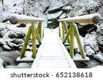 footbridge | Shutterstock . vector #652138618