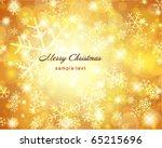 vector christmas background... | Shutterstock .eps vector #65215696