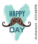 happy father's day greeting... | Shutterstock .eps vector #652168498