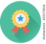 badge vector icon | Shutterstock .eps vector #652173016