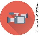 video camera vector icon | Shutterstock .eps vector #652173064