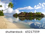 view from south pacific   Shutterstock . vector #65217559