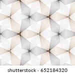 flower pattern vector ... | Shutterstock .eps vector #652184320