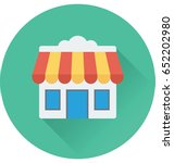 shop vector icon | Shutterstock .eps vector #652202980