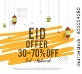 sale banner or sale poster for... | Shutterstock .eps vector #652224280