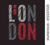London Tee Print. T Shirt...