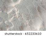 Close Up Of Wavy Limestone...