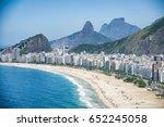 bright scenic view of the rio... | Shutterstock . vector #652245058