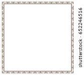 greek frame  border vector | Shutterstock .eps vector #652246516