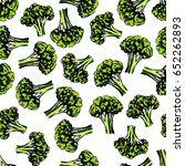 vector seamless pattern with... | Shutterstock .eps vector #652262893