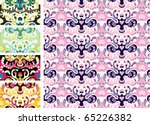 cute sealess pattern - stock vector
