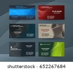 abstract professional and... | Shutterstock .eps vector #652267684