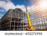 building construction using... | Shutterstock . vector #652271950