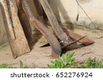 old gardening equipment | Shutterstock . vector #652276924