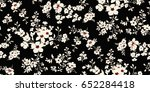 seamless floral pattern in... | Shutterstock .eps vector #652284418