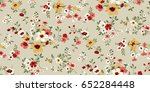 seamless floral pattern in... | Shutterstock .eps vector #652284448