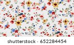 seamless floral pattern in... | Shutterstock .eps vector #652284454