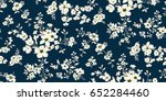 seamless floral pattern in... | Shutterstock .eps vector #652284460