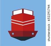 ship icon | Shutterstock .eps vector #652291744