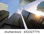 toronto skyline  financial... | Shutterstock . vector #652327774