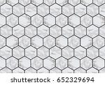 marble tiles with black grout   Shutterstock . vector #652329694