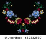 vector design for collar t... | Shutterstock .eps vector #652332580