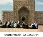 uzbekistan   people of... | Shutterstock . vector #652352044