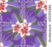 vector abstract flower...   Shutterstock .eps vector #652352686