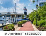 the waterfront promenade  a... | Shutterstock . vector #652360270