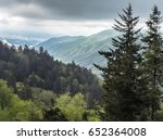 great smoky mountains in... | Shutterstock . vector #652364008