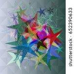 star pattern design | Shutterstock .eps vector #652390633