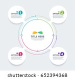 infographic diagram template... | Shutterstock .eps vector #652394368