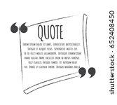 inspirational quote | Shutterstock .eps vector #652408450