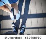couple in love | Shutterstock . vector #652408990
