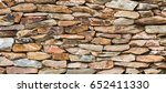 Pattern Of Stone Wall...
