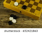 various board games chess board ... | Shutterstock . vector #652421863