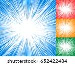 starburst  sunburst  rays of... | Shutterstock .eps vector #652422484