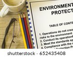 environmental protection and... | Shutterstock . vector #652435408