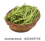 Green Beans In Basket Also...