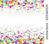 halftone dots for banners | Shutterstock .eps vector #652460224