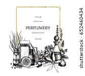 vintage template. ink hand... | Shutterstock .eps vector #652460434