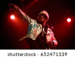 moscow 30 march 2017 rapper lil ...   Shutterstock . vector #652471339