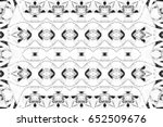 black and white pattern for... | Shutterstock . vector #652509676