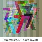 number 7 art texture   Shutterstock .eps vector #652516738