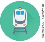 tram vector icon | Shutterstock .eps vector #652609450