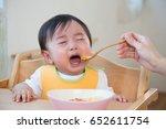 asian baby  | Shutterstock . vector #652611754