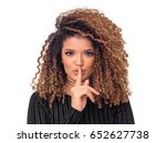 beautiful woman portrait with... | Shutterstock . vector #652627738