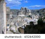 town of matera | Shutterstock . vector #652642000