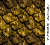 3d abstract  seamless snake... | Shutterstock . vector #652646350
