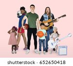 diversity people with hobby... | Shutterstock . vector #652650418